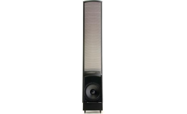 MartinLogan ElectroMotion® ESL Direct front view with grille removed (Satin Black)