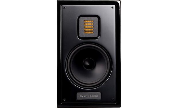 MartinLogan Motion® 15 Gloss Black with grille off