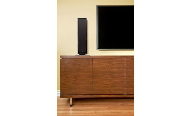 MartinLogan Motion® SLM Shown with wall-mounted TV