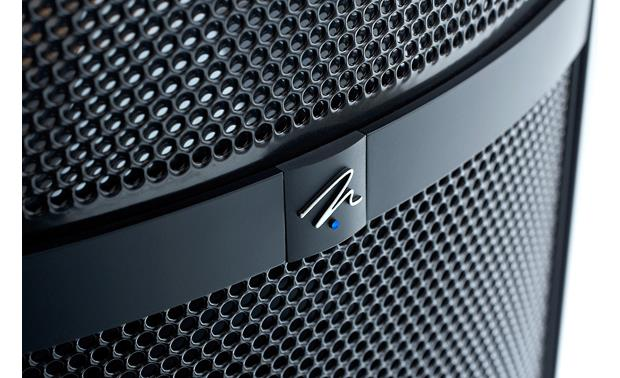 MartinLogan Theos MartinLogan logo and power status LED