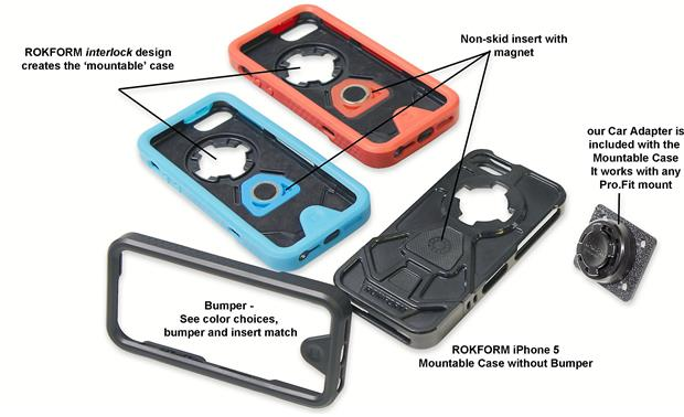 Car Mount Adapter Package for iPhone® 5 Other