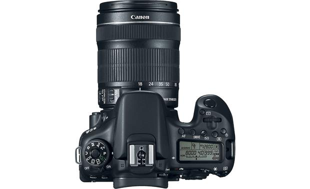 Canon EOS 70D Telephoto Lens Kit Top view