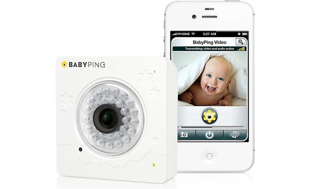 babyping wi fi baby monitor secure wi fi baby monitor for apple smartphones and tablets at. Black Bedroom Furniture Sets. Home Design Ideas