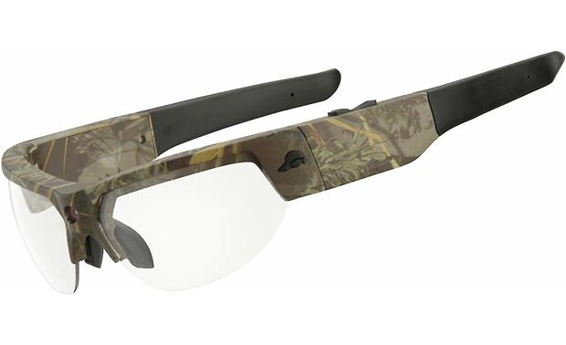 Pivothead Recon Left side view (Conceal, shown with clear lenses)