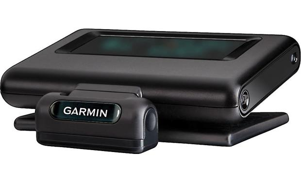 Garmin Head-Up Display (HUD) The Head-Up Display (HUD) fits comfortably on your dash