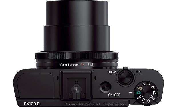 Sony Cyber-shot® DSC-RX100 II Top view (with full zoom)