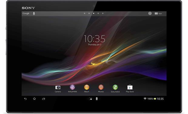 Sony Xperia™ Tablet Z Front