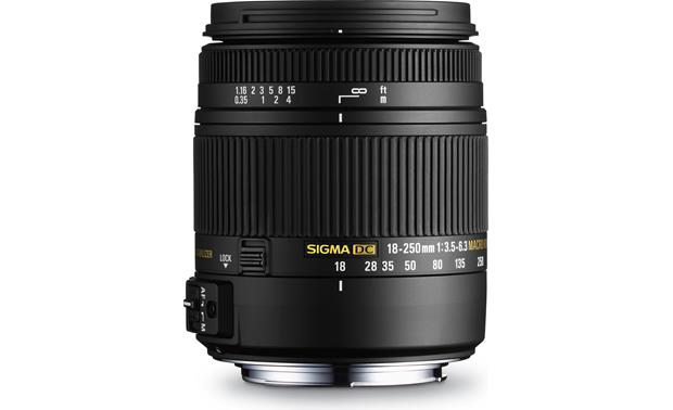 Sigma Photo 18-250mm f/3.5-6.3 DC OS HSM Front (Pentax/Samsung mount)