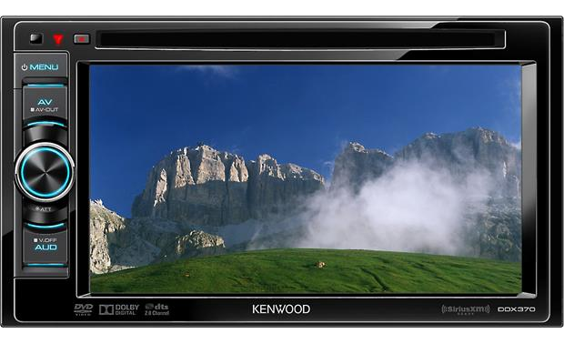 Kenwood DDX370 Front display
