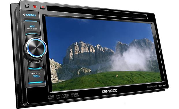 Kenwood DDX470 Front display