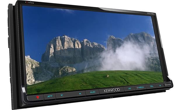 Kenwood Excelon DDX790 Front display