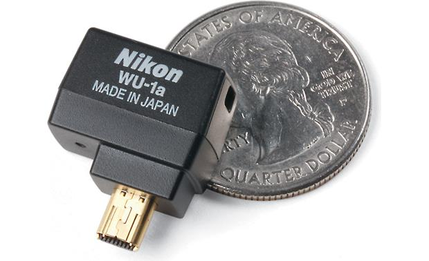 Nikon WU-1a Shown with quarter, not included