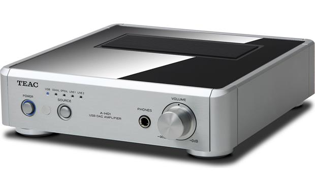 TEAC A-H01 Front (Silver)