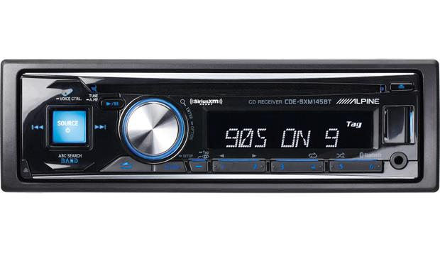 alpine cde sxm145bt cd receiver with free siriusxm satellite radio rh crutchfield com