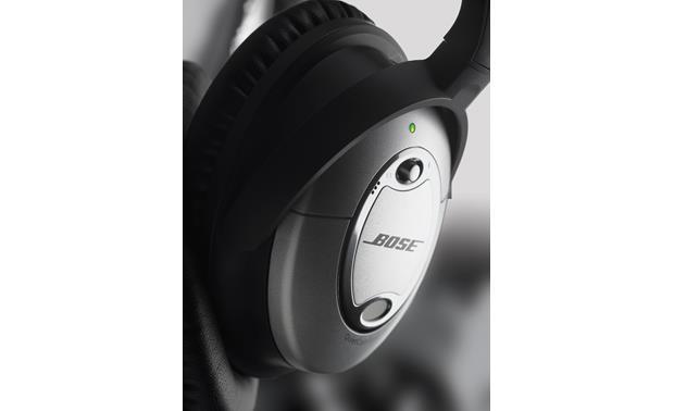 48941f3df69 Bose® QuietComfort® 15 Acoustic Noise Cancelling® headphones Closeup ...