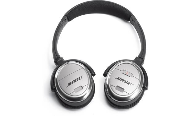 Bose® QuietComfort® 3 Acoustic Noise Cancelling® headphones Earcups fold for easy storage