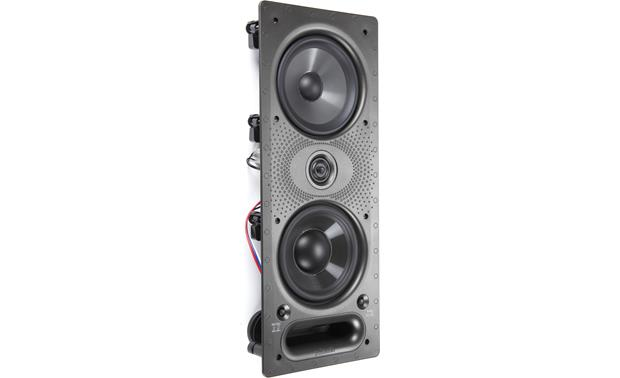 Polk Audio 265-LS Angled front view (grille removed)