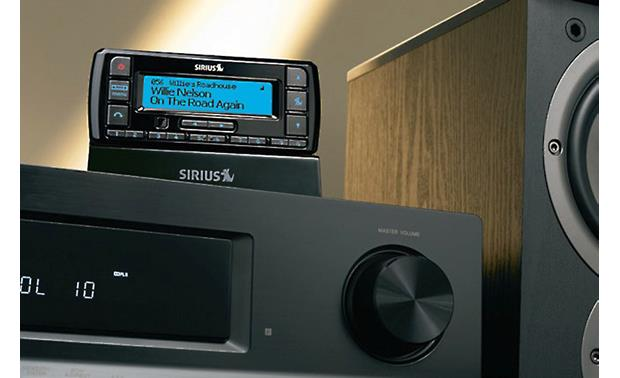 Sirius Stratus 7 Works with your home stereo using the Sirius Home Kit (sold separately).