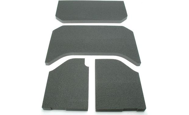 Boom Mat Sound Deadening Headliner Kit Boom Mat 4-piece kit (black version shown)