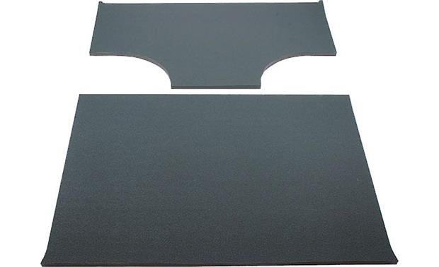 Boom Mat Sound Deadening Headliner Kit Boom Mat 2-piece kit with cut-outs for factory speaker pods (black)