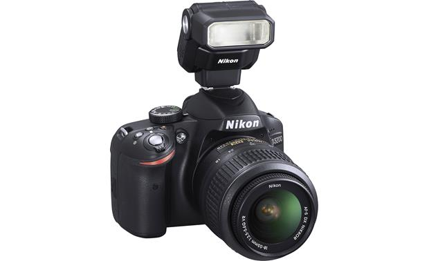 Nikon SB-300 Speedlight Shown mounted on a DSLR (not included)