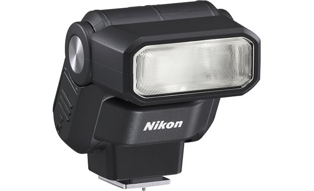 Nikon SB-300 Speedlight Front, 3/4 view, from left