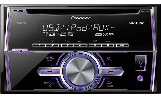 Pioneer FH-X500UI Front
