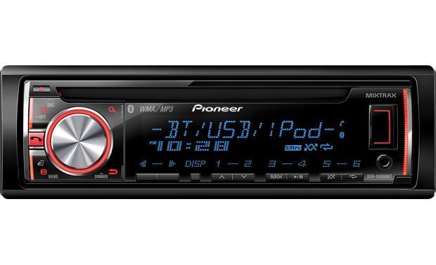 pioneer deh-x6600bt cd receiver at crutchfield,
