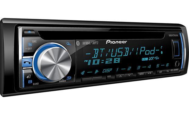 Pioneer DEH-X6600BT CD receiver at Crutchfield