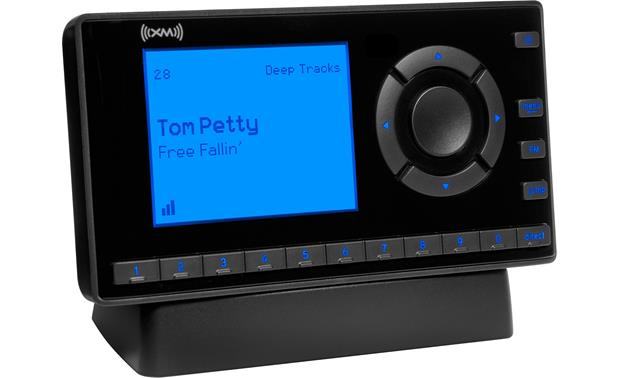 XM Onyx EZ Radio in dock