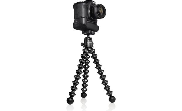 Joby Gorillapod Focus Shown with DSLR and grip (not included)