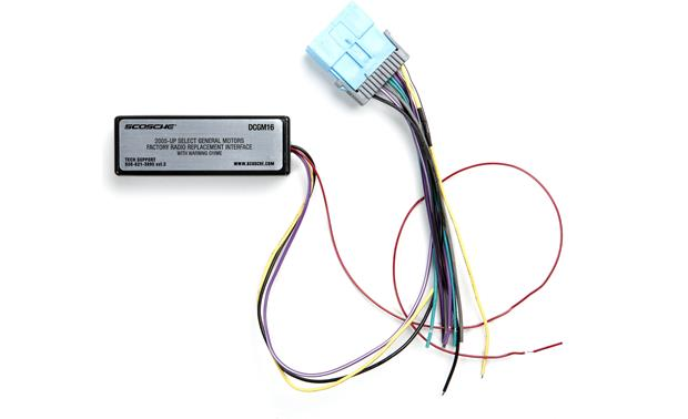 scosche dcgm16 wiring interface Scosche GM2000 Interface Wiring Diagram