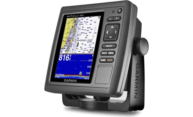 Garmin echoMAP 50s Garmin echoMAP 50s with transducer