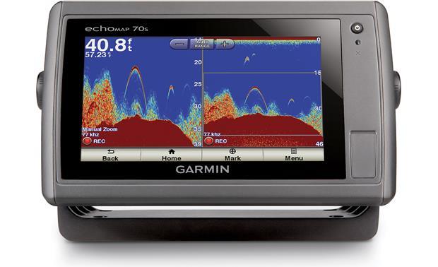 Garmin echoMAP 70s (with transducer) Chartplotter/fishfinder