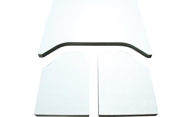 Boom Mat Sound Deadening Headliner Kit Boom Mat 3-piece kit (white version shown)