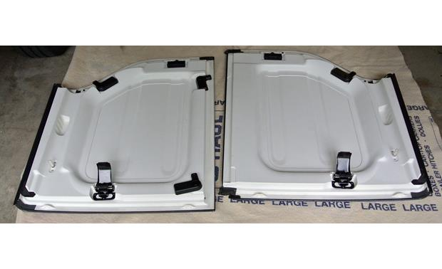 Boom Mat Sound Deadening Headliner Kit Headliner panels of 2012 Jeep Wrangler hard-top without Boom Mat