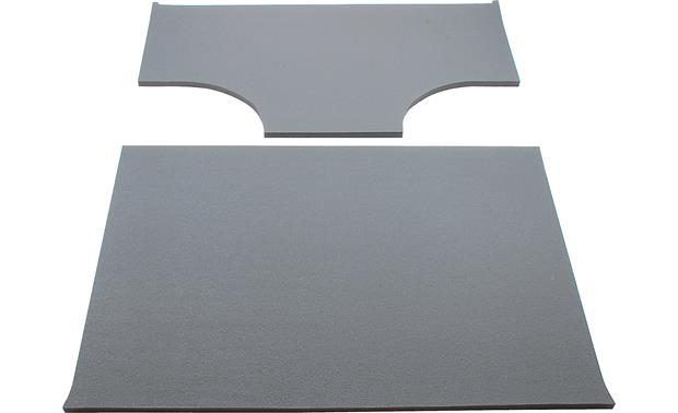 Boom Mat Sound Deadening Headliner Kit Boom Mat 2-piece kit with cut-outs for factory speaker pods (gray)