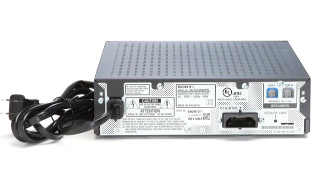 Sony BDV-N7100W Back (wireless surround amplifier)