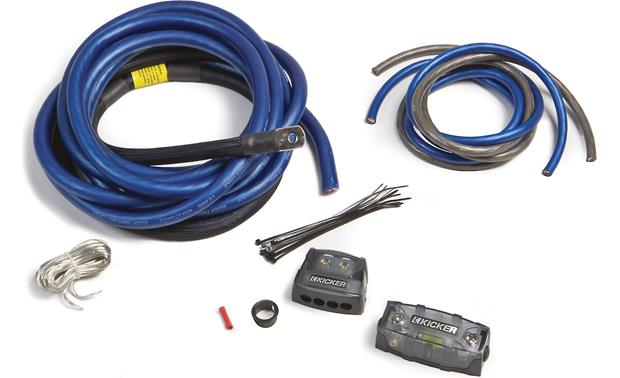 kicker pkd1 1 0 gauge dual amplifier power wiring kit at crutchfield com rh crutchfield com kicker wiring kit instructions kicker amp wiring kit