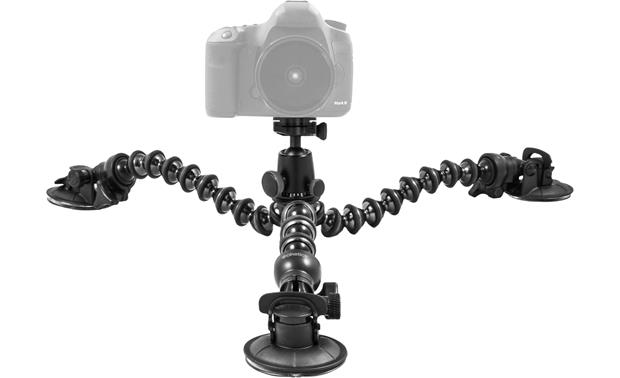 Cinetics CineSquid™ Front (shown with camera, Gorillapod Focus and ballhead, not included)