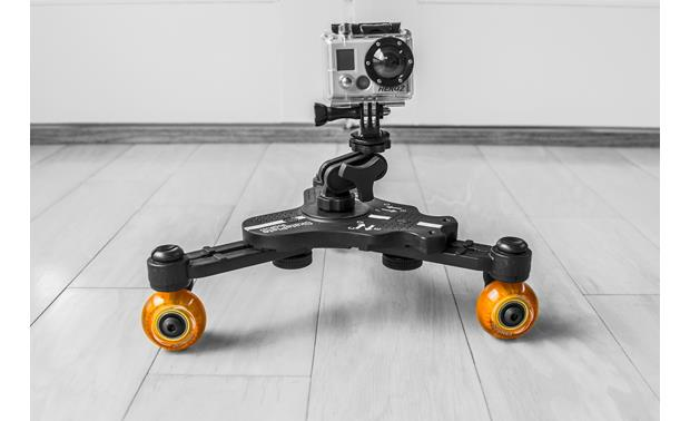 Cinetics miniSkates™ Pro Shown with action camera and camera mount (not included)