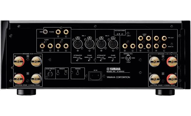 Yamaha A-S3000 Stereo integrated amplifier at Crutchfield.com