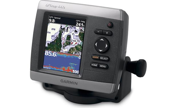 Garmin Gpsmap 441s Chartplotter  Fishfinder With 4 U0026quot  Display  Preloaded With U S  Coastal Maps At