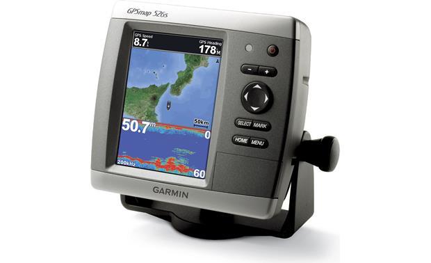 Garmin GPSMAP 526s Chartplotter/fishfinder with 5