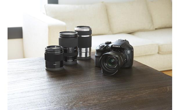 Sony Alpha a3000 Kit Compatible with a variety of optional E-Series lenses