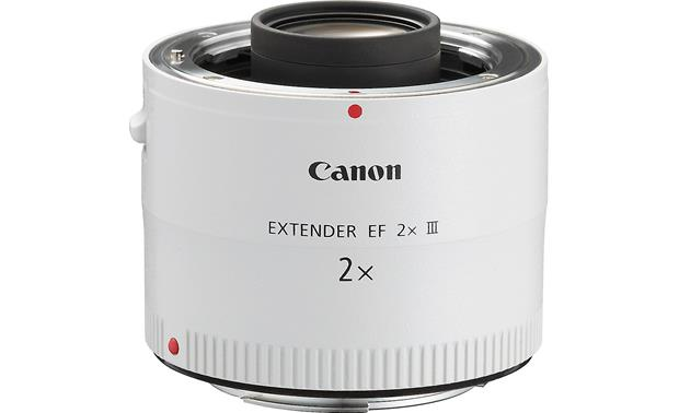 Canon EF 2x III Extender Angled view