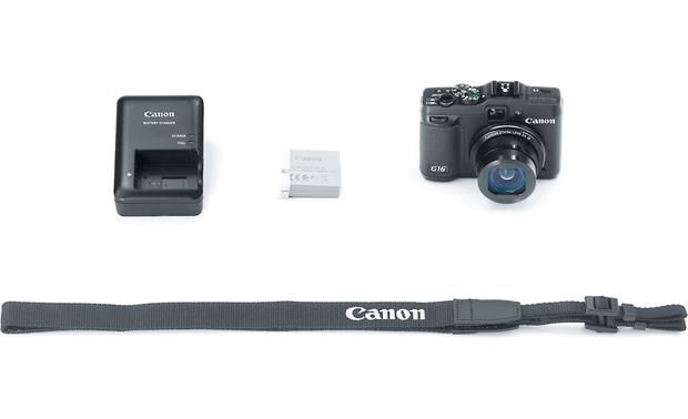 Canon PowerShot G16 With included accessories
