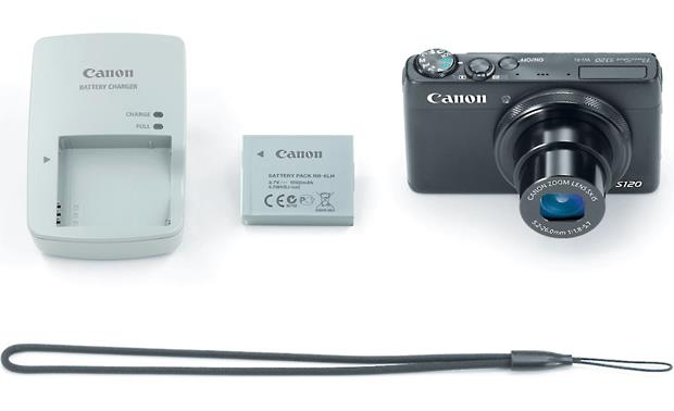 Canon PowerShot S120 With included accessories