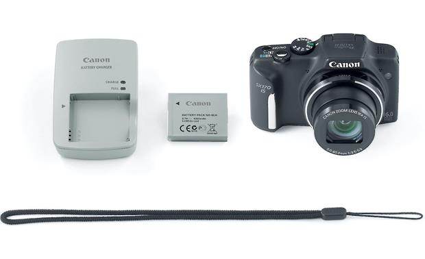Canon PowerShot SX170 IS With included accessories