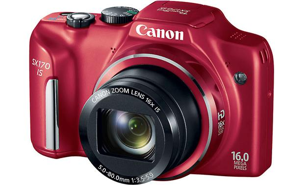 Canon PowerShot SX170 IS Front